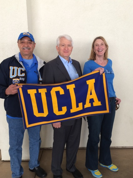 L with UCLA Chancellor