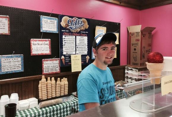 Ohio ice cream round two