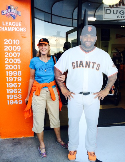 L with Pablo at San Jose Giants