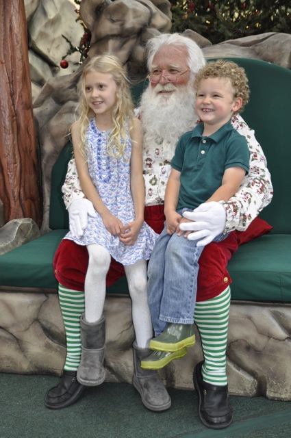 Grace and James with Santa_vertical
