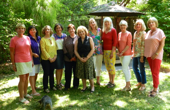 Class of '66 girl gathering