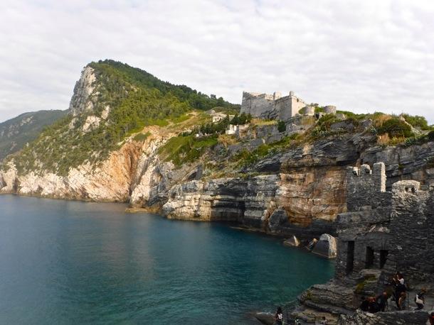 panoramic scene Portovenere