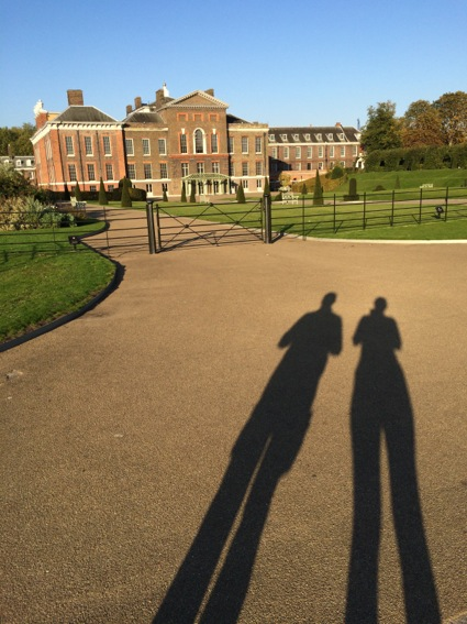 morning walk near Kensington Palace