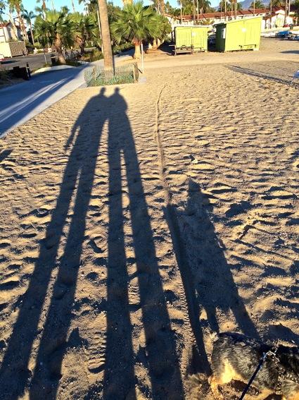 shadowing in SB on Turkey Day