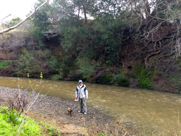 D and the Mag at creek