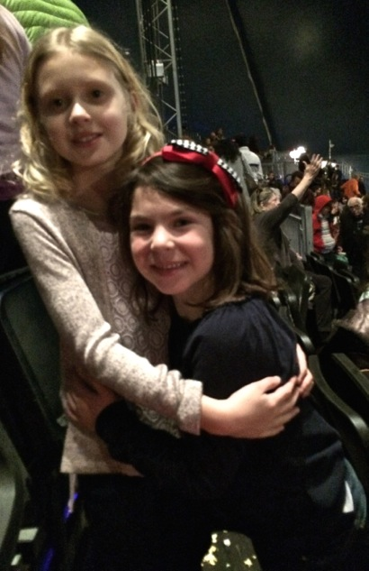Grace and friend at Cavalia