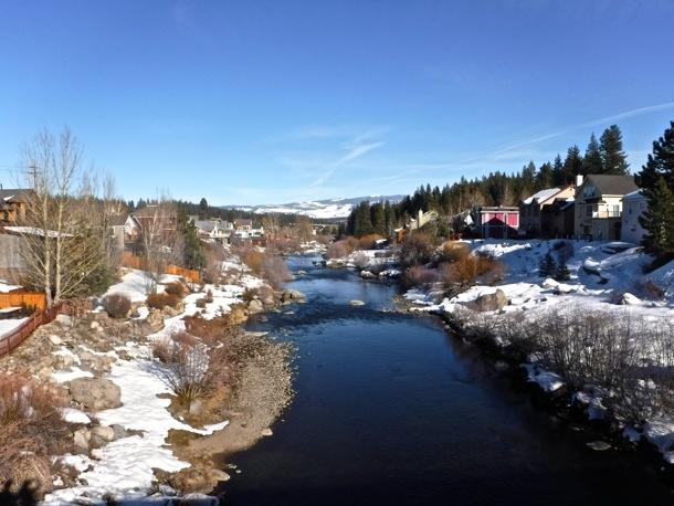 Truckee River in Truckee