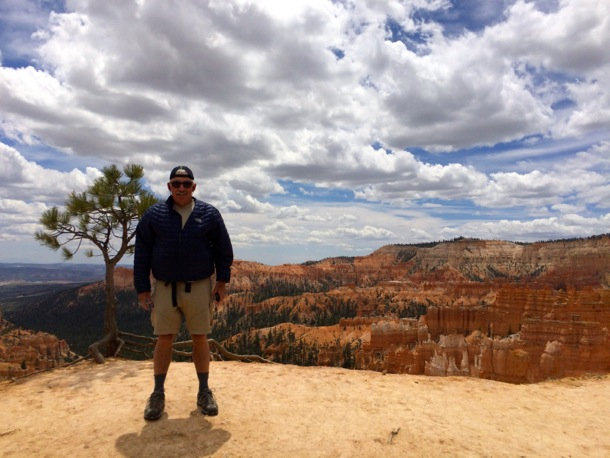 D at edge of Bryce Canyon