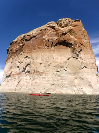 L in front of Lone Rock_Lake Powell