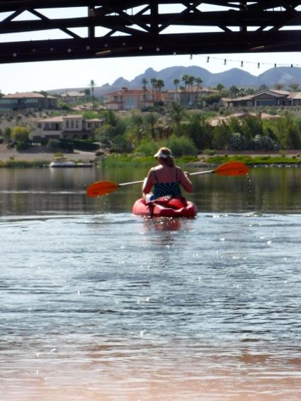 L kayaking on Lake Las Vegas_vert