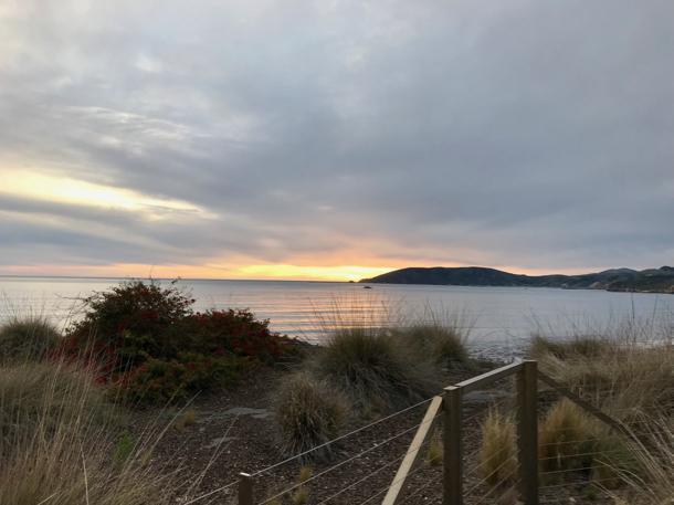 sunset in Pismo Beach - 1