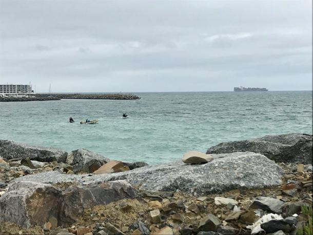 Cape Town breakwater - 1
