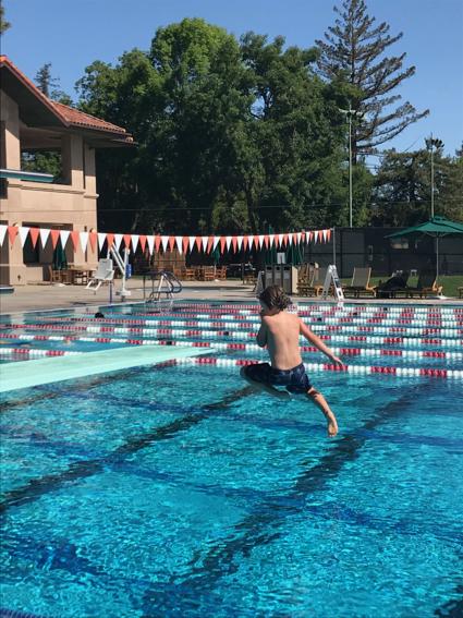 James jumping - 1