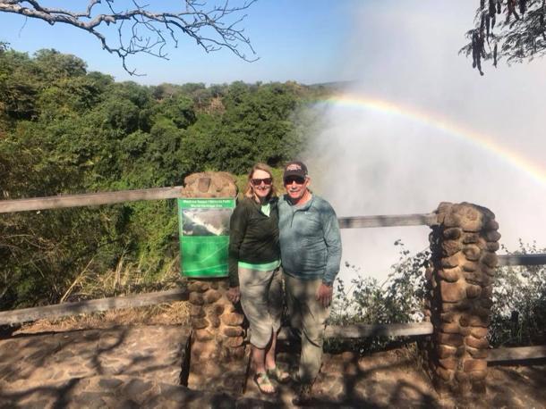 L and D at Victoria Falls - 1