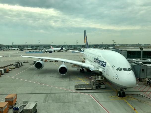 Lufthansa A380 - 1