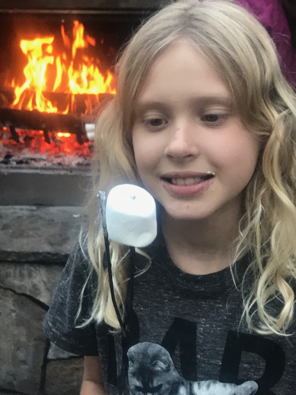 Grace with marshmallow - 1