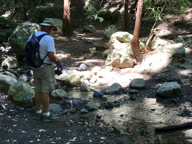 Mag finds a creek - 1