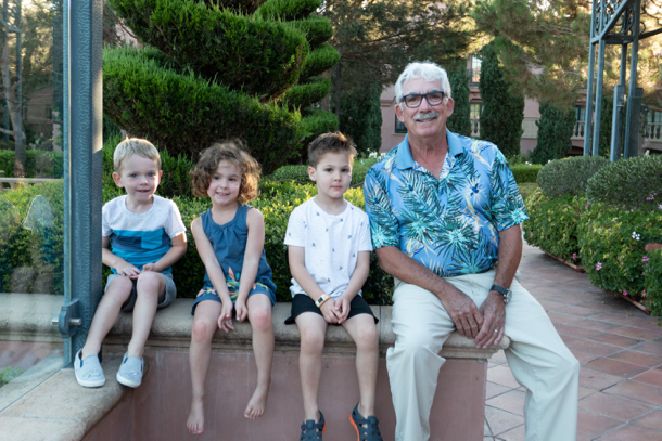 D with grandkids - 1