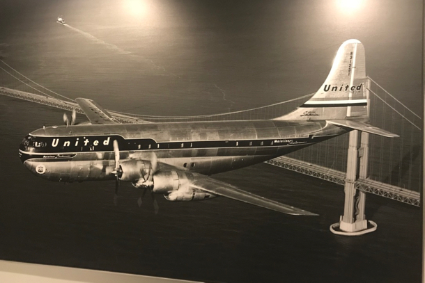 Old United aircraft - 1