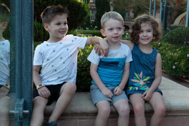 three Nugent grandkids - 1