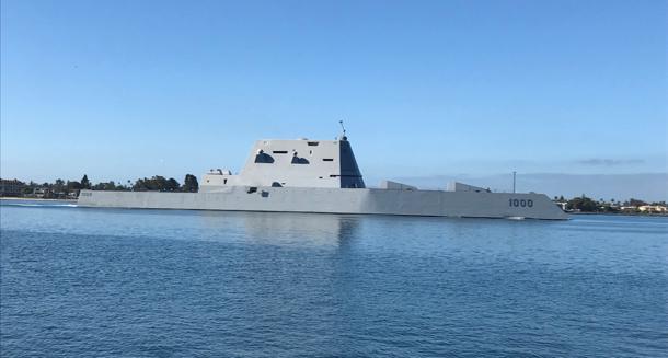 USS Zumwalt - 1