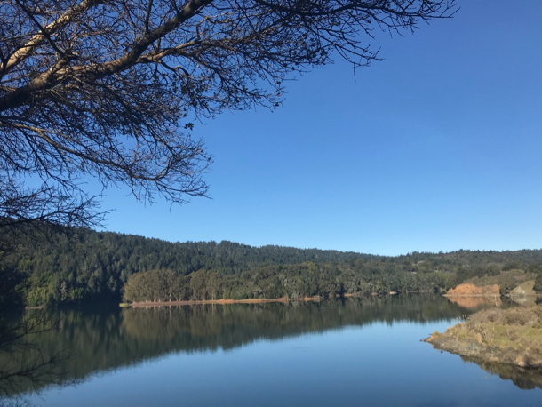 Sawyer Camp Trail_Crystal Springs reservoir - 1