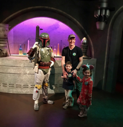 Matt and twins and some Star Wars guy - 1